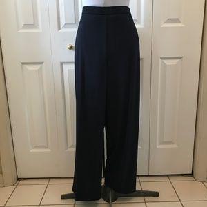 Dana Buchman Navy Pull On Pant Trouser sz 14S